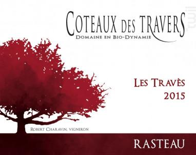 Les Travès - Domaine des Coteaux des Travers - 2017 - Rouge