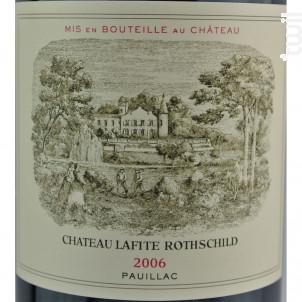 Château Lafite Rothschild - Domaines Barons de Rothschild - Château Lafite Rothschild - 2004 - Rouge