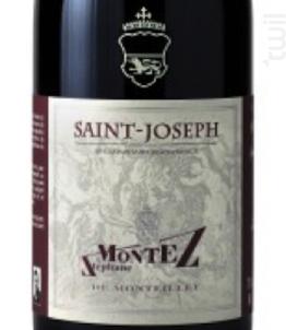 Saint-Joseph - Domaine du Monteillet - Stéphane Montez - 2018 - Rouge