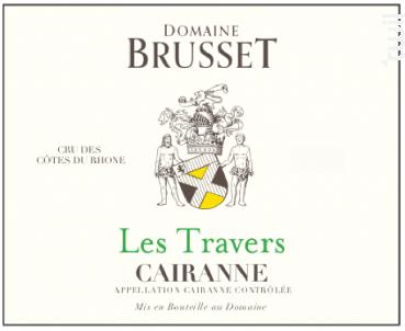 Les Travers - Domaine Brusset - 2020 - Blanc