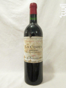 La Croix - La Croix - 1985 - Rouge