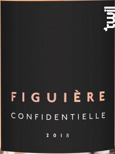 Confidentielle - Figuière - 2019 - Rosé