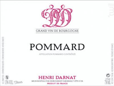 Pommard - Domaine Henri Darnat - 2016 - Rouge
