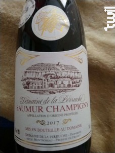 Saumur-Champigny - Domaine de la Perruche - 2017 - Rouge