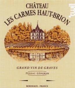 Château Les Carmes Haut-Brion - Château Les Carmes Haut-Brion - 2001 - Rouge