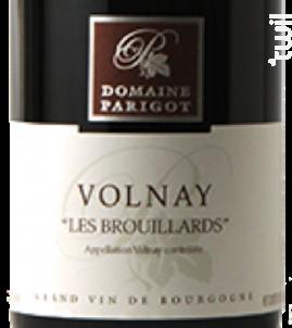 Volnay Les Brouillards - Domaine Parigot - 2014 - Rouge