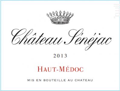 Château Sénéjac - Château Sénéjac - 2013 - Rouge