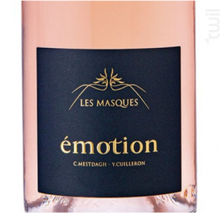 Émotion Rosé - Domaine des Masques - 2020 - Rosé