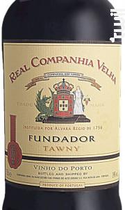 Real Companhia Velha Fundador - Real Companhia Velha - Non millésimé - Rouge