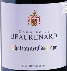 Châteauneuf-du-Pape - Domaine de Beaurenard - 2015 - Rouge