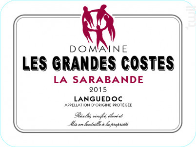 La Sarabande - LES GRANDES COSTES - 2015 - Rouge