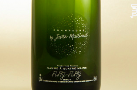 Fifty-fifty Brut - Champagne by Justin Maillard - Non millésimé - Effervescent