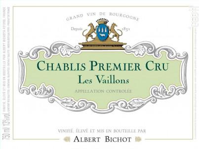 Chablis Premier Cru Les Vaillons - Albert Bichot - 2017 - Blanc