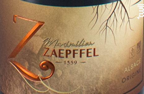 Origine - Famille Zaepffel - 2018 - Blanc