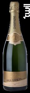 Carte Or Brut - Champagne Paul Dangin et Fils - Non millésimé - Effervescent