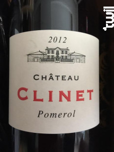 Château Clinet - Château Clinet - 1999 - Rouge