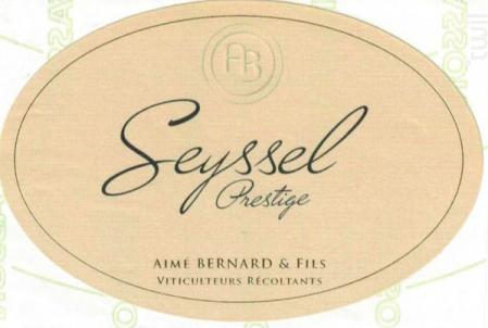 Seyssel Prestige - Aimé Bernard & Fils - 2017 - Blanc