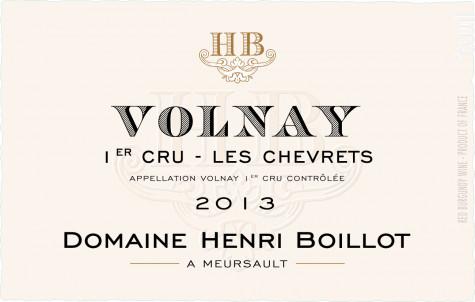 Volnay Premier Cru Les Chevrets - Maison Henri Boillot - 2015 - Rouge