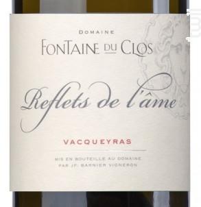 Reflets de l'Âme - Domaine Fontaine du clos - 2019 - Blanc