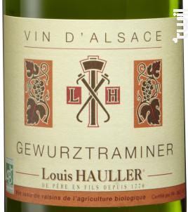 Gewurztraminer Bio - Louis Hauller - Non millésimé - Blanc