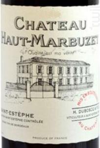 Château Haut-Marbuzet - Château Haut-Marbuzet - 2013 - Rouge