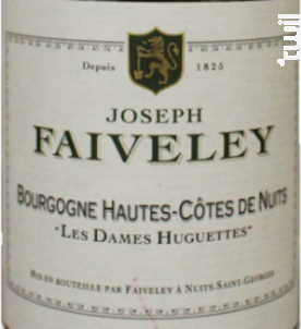 Les Dames Huguettes - Domaine Faiveley - 2017 - Blanc