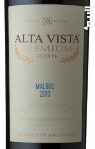 Alta Vista Malbec Premium - Alta Vista - 2018 - Rouge