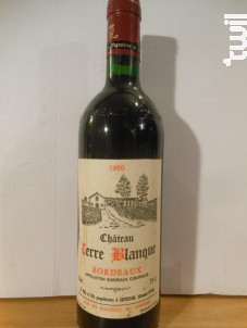 ChÂteau Terre Blanque - Chateau Terre Blanque - 1990 - Rouge