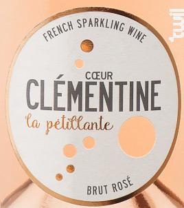 Coeur Clémentine La pétillante - Coeur Clémentine - Non millésimé - Rosé