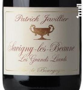 SAVIGNY LES BEAUNE Les Grands Liards - Domaine Patrick Javillier - 2016 - Rouge