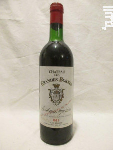 Château Les Grandes Bornes - Château les Grandes Bornes - 1982 - Rouge