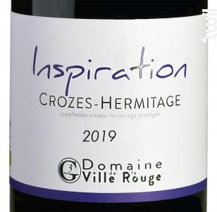 Inspiration - Domaine de la Ville Rouge - 2019 - Rouge