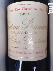Château Branaire-Ducru - Château Branaire-Ducru - 1993 - Rouge