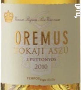 Tokaj Aszu 3P - Oremus - 2011 - Blanc