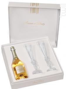 Coffret Deutz Amour De Deutz + 2 Flûtes - Champagne Deutz - 2009 - Effervescent