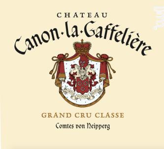 Château Canon La Gaffelière - Château Canon la Gaffelière - 2012 - Rouge