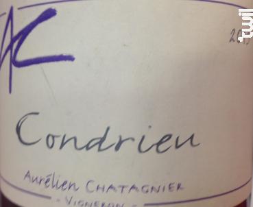 Condrieu - Domaine Aurélien Chatagnier - 2018 - Blanc