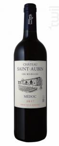 Château Saint-Aubin - Château Saint Aubin - 1986 - Rouge
