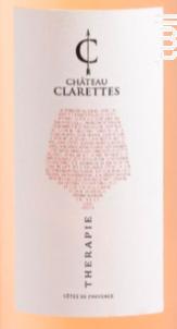 Therapie Rosé - Château Clarettes - 2020 - Rosé
