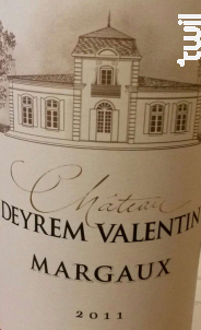 Château Deyrem Valentin - Château Deyrem-Valentin - 2013 - Rouge
