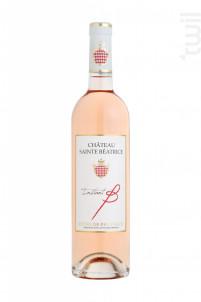 INSTANT B - Château Sainte Béatrice - 2017 - Rosé
