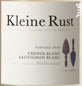 Kleine rust – Cellar Selection White - Stellenrust - 2017 - Blanc
