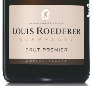 Brut Premier - Champagne Louis Roederer - Non millésimé - Effervescent