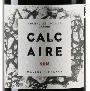 Calcaire - Chateau les Croisille - 2016 - Rouge