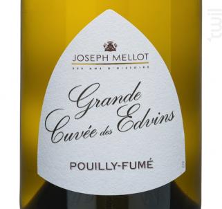 GRANDE CUVEE DES EDVINS - Vignobles Joseph Mellot - 2015 - Blanc
