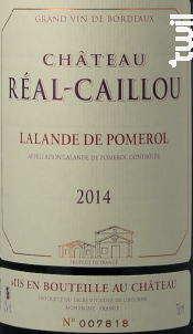 Château Réal-Caillou - Château Grand Baril et Réal Caillou - 2016 - Rouge