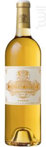 Château Coutet - Château Coutet - Barsac - 2010 - Blanc