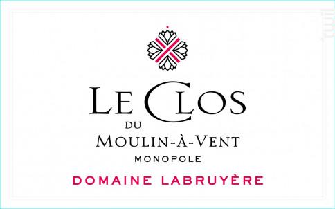 Le Clos du Moulin-à-Vent - Domaine Labruyère - 2018 - Rouge