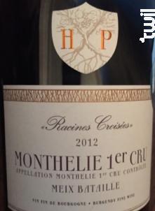 Monthélie Premier Cru Meix Bataille - Maison Henri Pion - 2013 - Rouge
