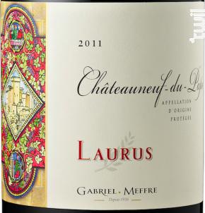Châteauneuf-du-Pape - Laurus - Maison Gabriel Meffre - 2015 - Rouge